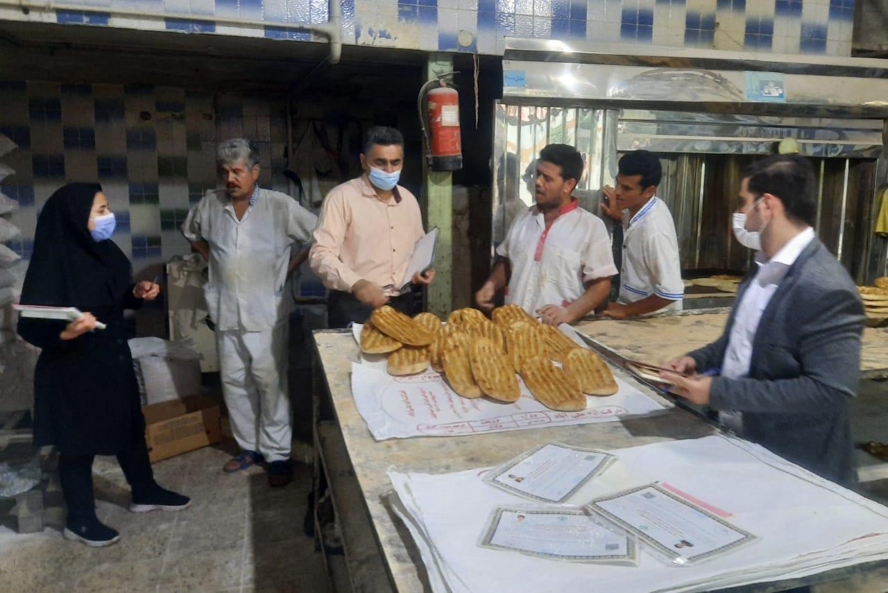تشدید بازررسی از نانواییهای شهرستان علی آباد کتول